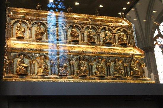 Kölner Dom: Хранилище   мощей Святых волхвов –  Кельнский Собор