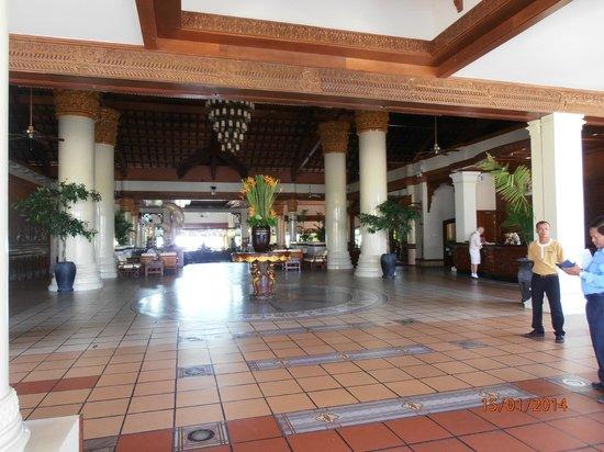 Sokha Beach Resort: Recepción