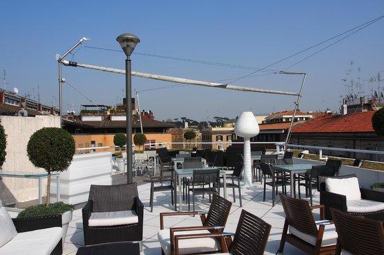 Visconti Palace: Dachterrasse