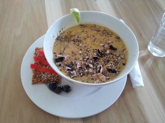 Prana Kafe : Delicious soup