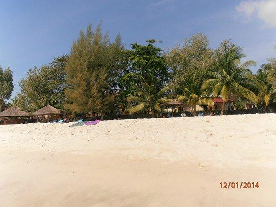Sokha Beach Resort: Playa del Hotel