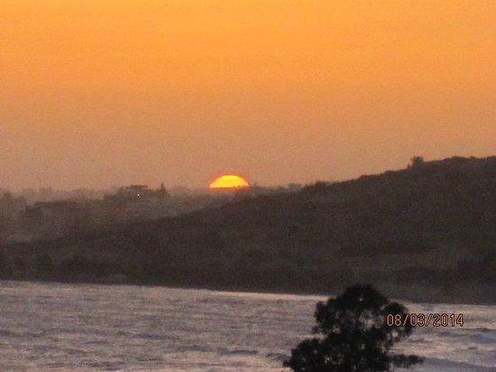 St Raphael Resort: Sun Set from room 432