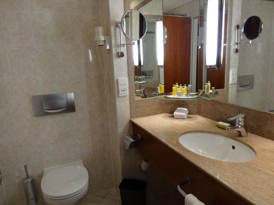 Prague Marriott Hotel: стандартный санузел