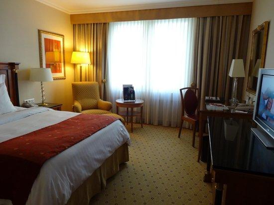 Prague Marriott Hotel: одноместный номер
