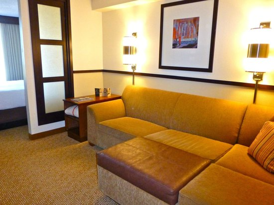 Hyatt Place Tampa Airport/Westshore : Cozy living room area