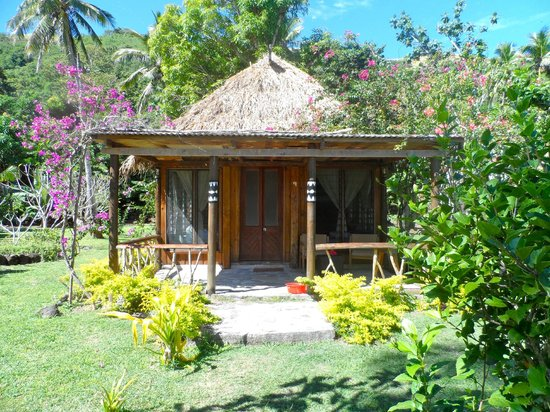 Botaira Beach Resort : Bure where I stayed