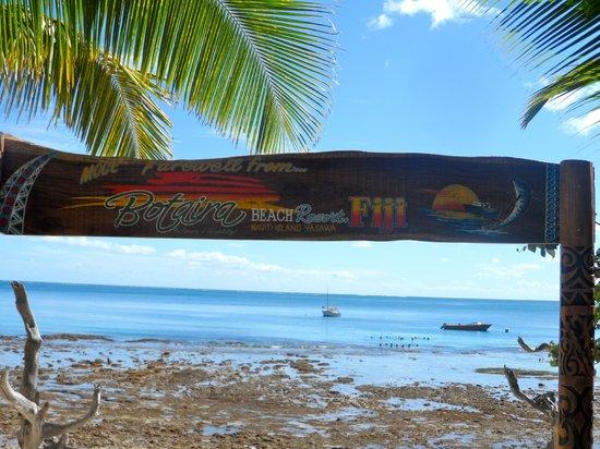 Botaira Beach Resort : ocean front