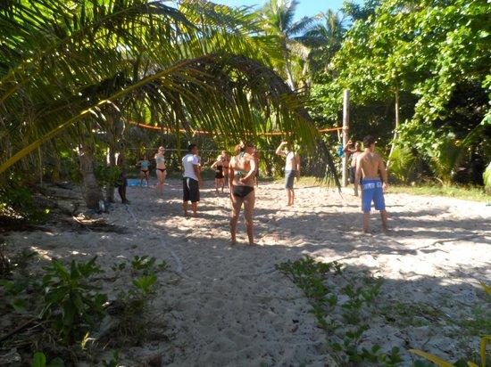 Botaira Beach Resort : Volleyball area