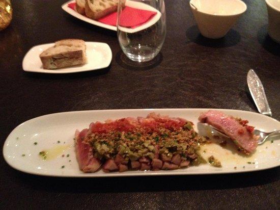 UR Palacio Avenida: Steak tartare