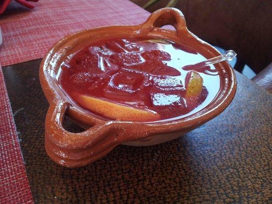 Corazon De Maguey: mezcal cocktail with worm salt