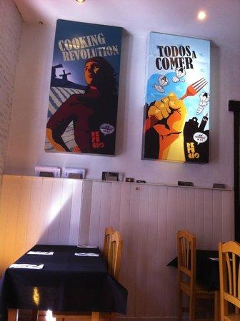 Refugio- Restaurante del Carmen : Cosy Interior