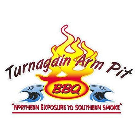 Turnagain Arm Pit BBQ Indian: Turnagain Arm Pit BBQ logo