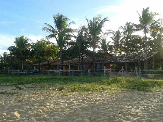 Pousada da Barra: Vista desde la playa de la posada