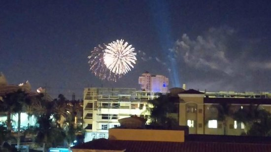 Sheraton Park Hotel at the Anaheim Resort: Disneyland fireworks