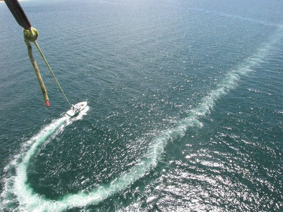Dennis Parasail : Your view from the chute!