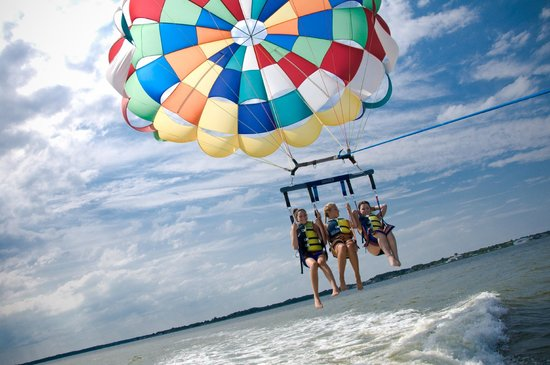 Dennis Parasail : Triples are the best!