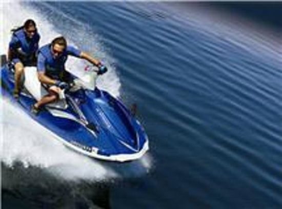 Dennis Parasail : $ doesn't buy happiness, but it does rent a jet ski! ever c someone unhappy on a jet ski?