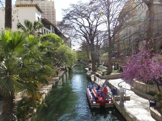 Drury Plaza Hotel San Antonio Riverwalk : View of Riverwalk