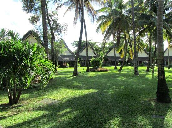 La Pirogue Resort & Spa : Le parc