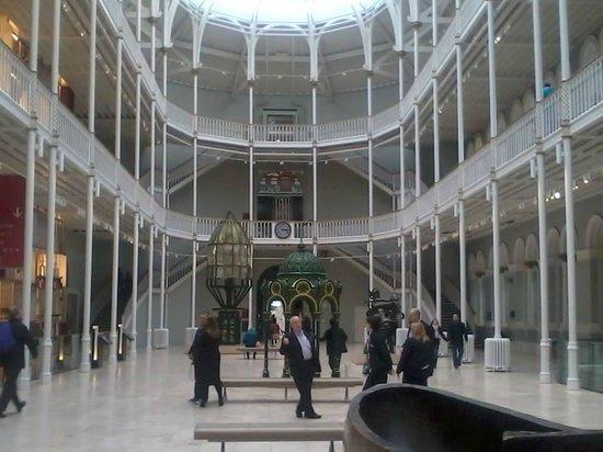 National Museum of Scotland: inside the museum of Scotland Edinburgh