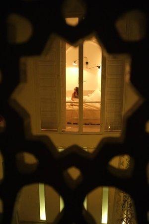 Le M de Marrakech : La chambre vue de l'autre chambre !