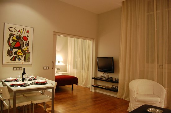 Bonavista Apartments - Passeig de Gracia: Salón Comfort Apartment 1 habitación