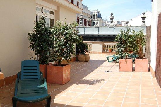 Bonavista Apartments Barcelona - Passeig de Gracia: Terraza del edificio