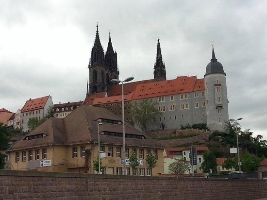 Albrechtsburg Castle, Meissen, Germany: Башни замка видны отовсюду