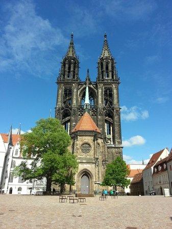 Albrechtsburg Castle, Meissen, Germany: Готический собор внутри замка