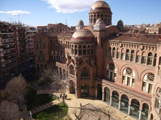 Amrey Sant Pau : view from balcony