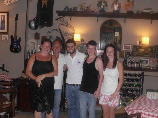 Kibele Restaurant : THE GANG X