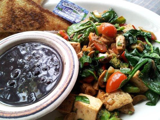 Costa Alegre Restaurant: Tofu Breakfast