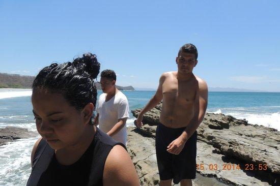 Parque Maritimo el Coco: la playa