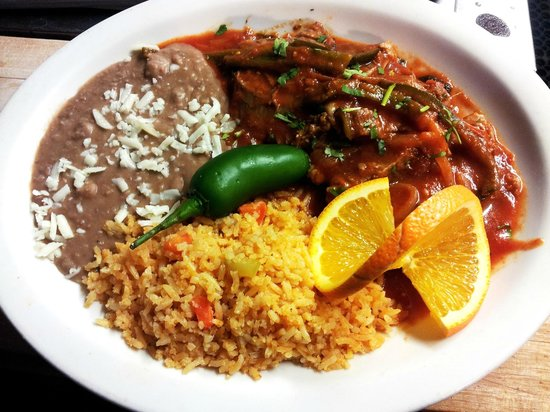 Costa Alegre Restaurant: Steak Ranchero