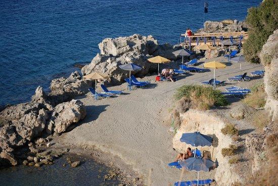 The Kresten Royal Villas & Spa : plage privée