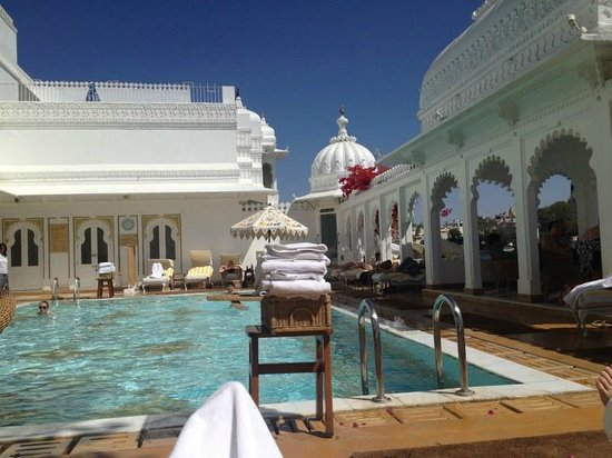 Taj Lake Palace Udaipur: Pool