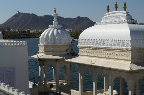 Taj Lake Palace Udaipur: Roof Top