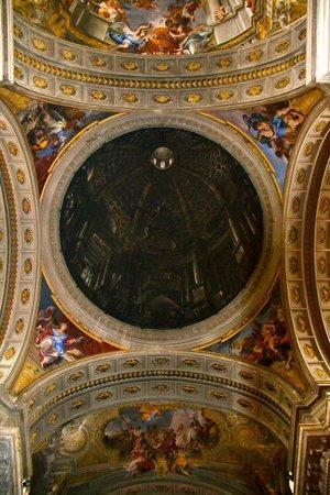 Eglise Sant'Ignazio di Loyola : inside