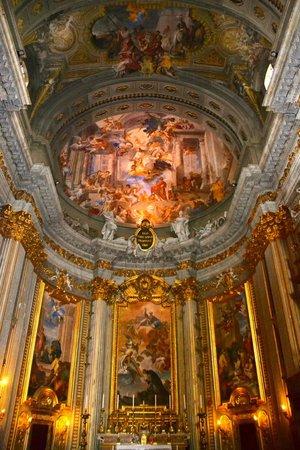 Chiesa di Sant'Ignazio di Loyola: inside