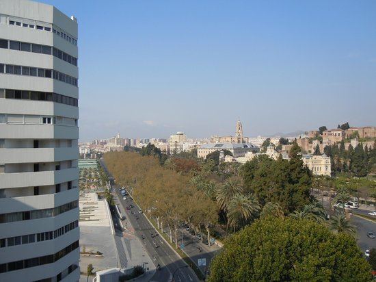 Hotel MS Maestranza: City View from our balcony.