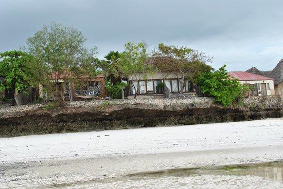 Coral Rock Zanzibar : The room viewed from the beach