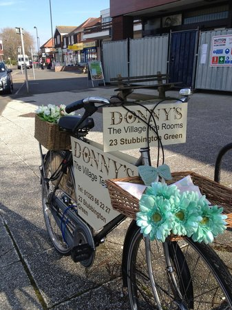 The Donny's bike...