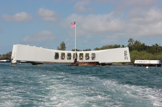 USS Arizona Memorial/World War II Valor in the Pacific National Monument: God rest the souls lost on Dec. 7, 1941