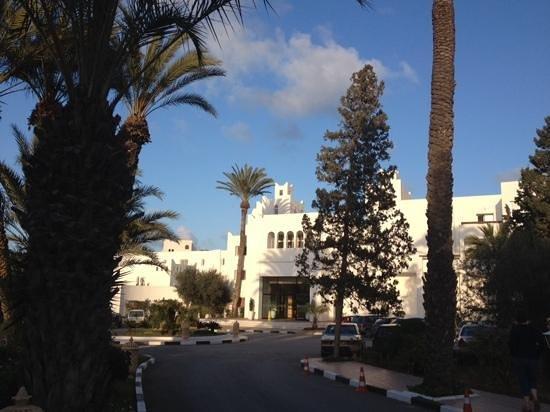 Marhaba Salem : hotel entrance