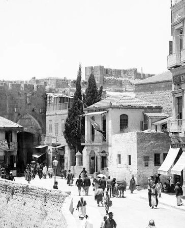 jaffa gate square - versavee building