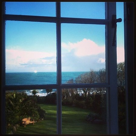 Cove Cottage : View from the bedroom window