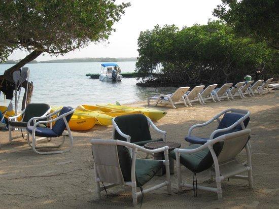 Hotel Sport Baru: La playa del hotel