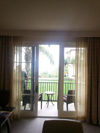 Terranea Resort: View from our corner suite bedroom