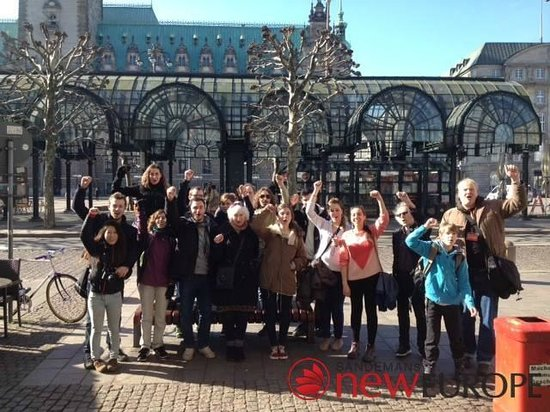 SANDEMANs NEW Hamburg Tours: Our group before the start!