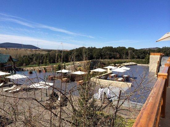 Michlifen Resort & Golf : Vue depuis la terrasse